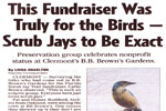 Fundraiser for the Birds December 14, 2006